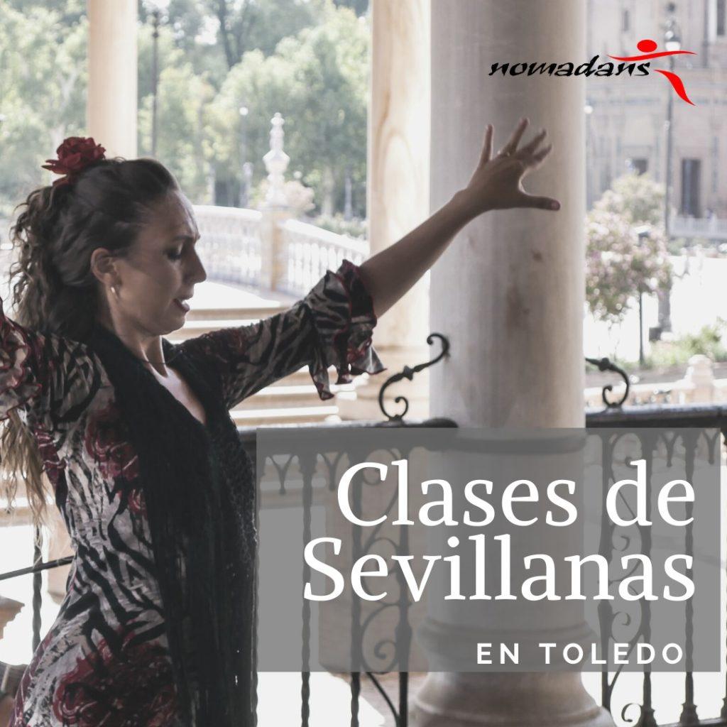 Clases De Sevillanas En Toledo Escuela Nomadans
